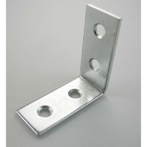Corner Brace Zinc 38mm - 2 Pack