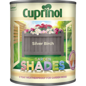 Cuprinol Garden Shades - Silver Birch - 2.5L