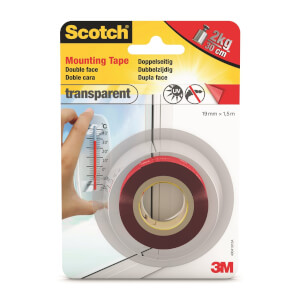 3m Transparent Mounting Tape 1