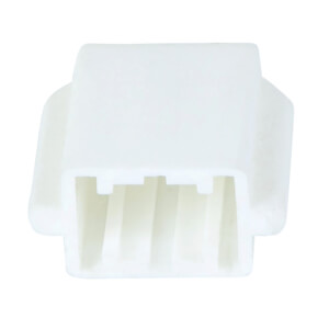 Nose End Cover - White