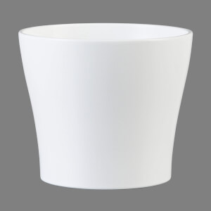 Plant Pot - White  - 13cm