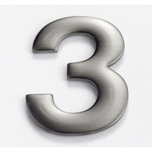 Mode Self Adhesive House Number - 50mm - 3