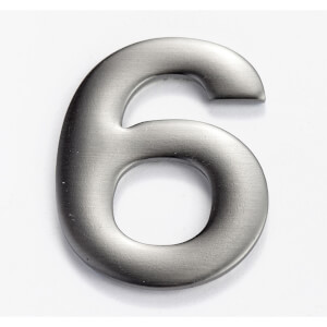 Mode Self Adhesive House Number - 50mm - 6