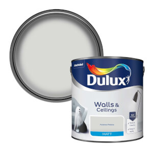 Dulux Polished Pebble - Matt Emulsion Paint - 2.5L