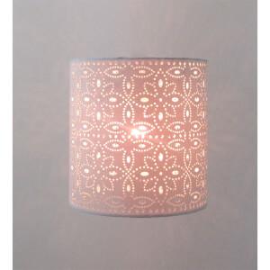 Alexia Lamp Shade, 20cm, Cream