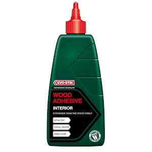 Evo-Stik Resin Wood Adhesive Interior Bottle - 1L