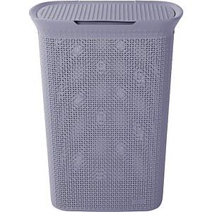 Ezy Storage Mode 57L Laundry Hamper - Lilac