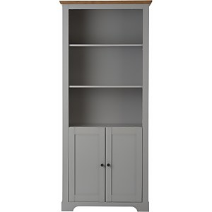 Diva Storage Bookcase - Grey