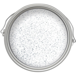 Craig & Rose Artisan Glitter Glaze Paint - Starlight Silver - 750ml