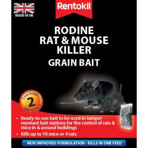 Rentokil Rat & Mouse Killer Sachets (Pack of 2)