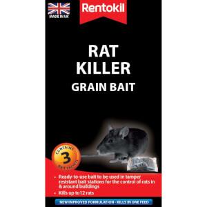 Rentokil Rat Killer Sachets (Pack of 3)