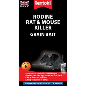 Rentokil Rat & Mouse Killer Sachets (Pack of 6)
