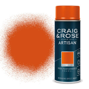 Craig & Rose Artisan Enamel Gloss Spray Paint - Bright Delight - 400ml