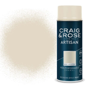 Craig & Rose Artisan Enamel Gloss Spray Paint - Hog Bristle - 400ml