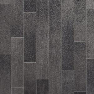 Rufus Vinyl Flooring - Slate Tile Effect - 2x2m