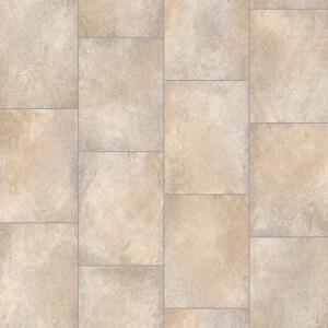 Sula Vinyl Flooring - Beige Stone Effect - 2x2m