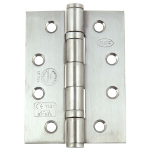 Hafele Grade 13 Butt Hinge - Satin Stainless Steel - 4 x 3inch - 3 Pack