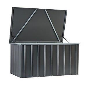 Metal Garden Storage Metal Storage Boxes Homebase