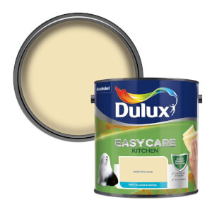 Dulux Easycare Kitchen Wild Primrose Matt Paint - 2.5L