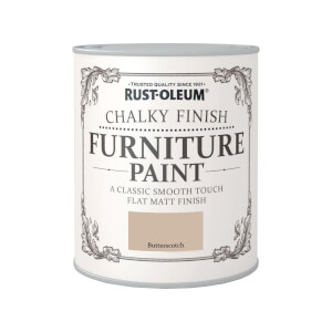 Rust-Oleum Chalky Furniture Paint - Butterscotch - 750ml