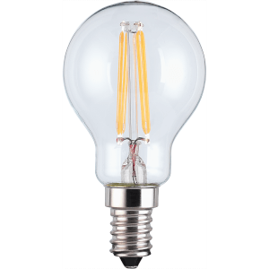 TCP LED Filament Mini Globe 4W E14 Light Bulb