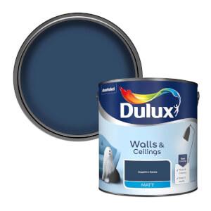 Dulux Standard Sapphire Salute Matt Emulsion Paint - 2.5L