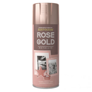 Rust-Oleum Spray Paint Metallic Rose Gold - 400ml