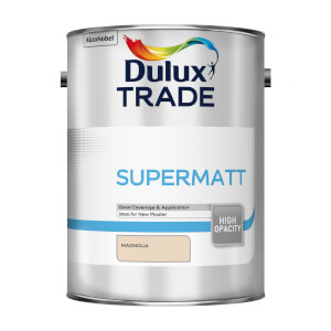 Dulux Trade Supermatt Magnolia Paint - 5L