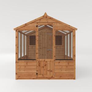 Mercia 10x6 Traditional Apex Greenhouse Combi