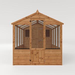 Mercia 12x6 Traditional Apex Greenhouse Combi
