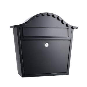 Sandleford Hatton Wall Mount Mailbox - Black