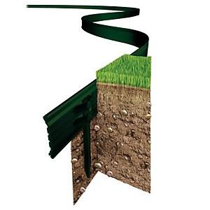 Swift Edge Garden Edging - 6m - Green