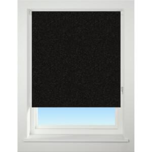 Sparkle Black 90cm Roller Blind