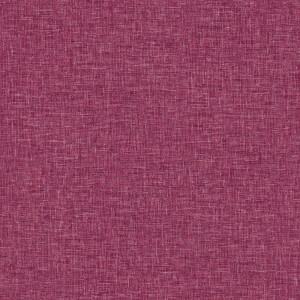 Arthouse Linen Texture Plain Textured Raspberry Wallpaper