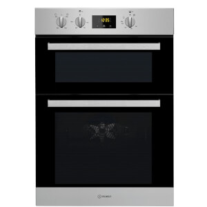 Indesit Aria IDD 6340 IX Built-in Double Electric Oven - Stainless Steel