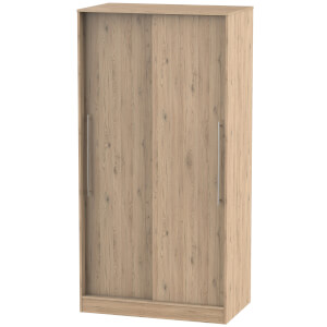 Siena Bordeaux Oak Sliding Wardrobe