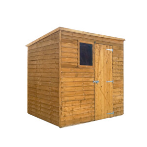 Mercia (Installation Included) 7x5ft Overlap Pent Shed