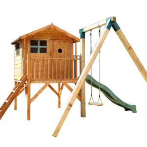 Mercia Tulip Playhouse with Activity Set