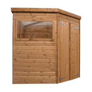 Mercia (Installation Included) 7x7ft Shiplap Corner Shed
