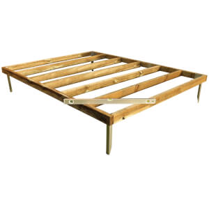 Mercia 8x6ft Pressure Treated Wooden Shed Base - Installation Included