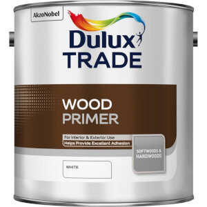 Dulux Trade Wood Primer - White - 2.5L
