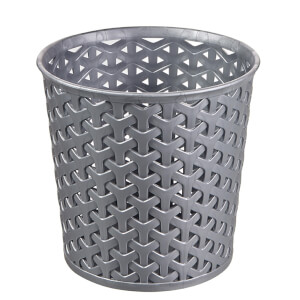 Curver My Style Large 1.6L Round Plastic Storage Organiser - Grey