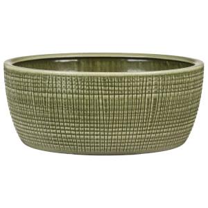 Round Planter - Mint