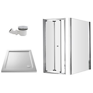 Balterley Bi-Fold Shower Enclosure Package - 800mm