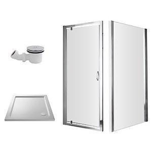 Balterley 760mm Pivot Shower Enclosure Package