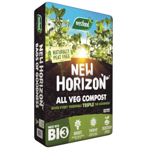 New Horizon Peat Free All Veg Compost - 50L
