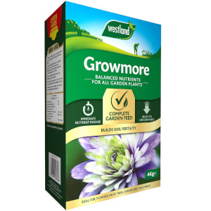 Westland Growmore Balanced Garden Fertiliser For All Plants - 4kg