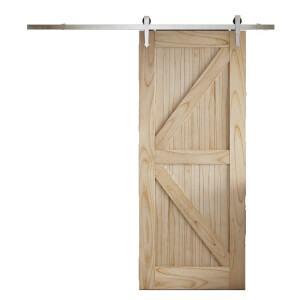 Cottage FLB Sliding Barn Door with Provincial Track  2073 x 862mm