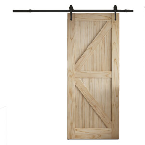 Cottage FLB Sliding Barn Door with Urban Track 2073 x 862mm