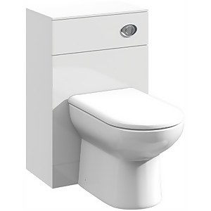 Balterley Orbit 500x300mm WC Unit - Gloss White